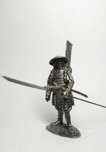 figure Samurai 54 mm Tin soldier