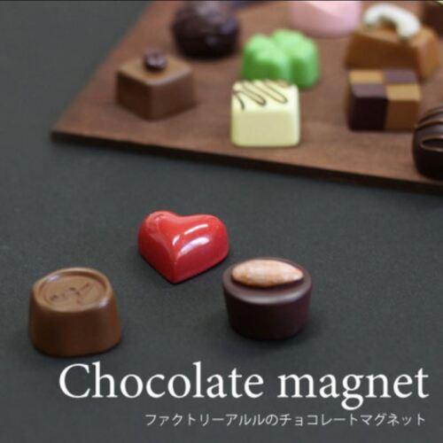 Japan Imported 3pcs Chocolate Sweets Fridge Magnet Gift Box Set Cute Kawaii Food