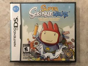 Super-ScribbleNauts-Nintendo-DS-Brand-New-Factory-Sealed