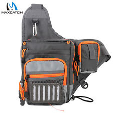 Maxcatch Splash waterproof Fishing Bag Multi Function Waist Bag Pack Sling Bag