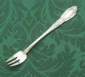 MINT NIB Towle King Richard Sterling Silver 925 Cocktail//Seafood Fork No Mono