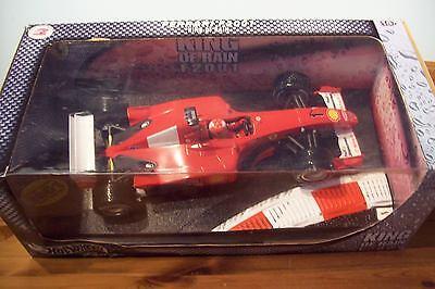 1/18 Michael Schumacher Ferrari F2001 King Of Rain 2001-mostra Il Titolo Originale Avere Uno Stile Nazionale Unico