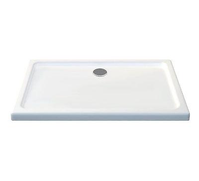 100 x 90 cm Acryl Duschtasse - 50 mm flache Duschwanne Dusche Acrylwanne Dusche