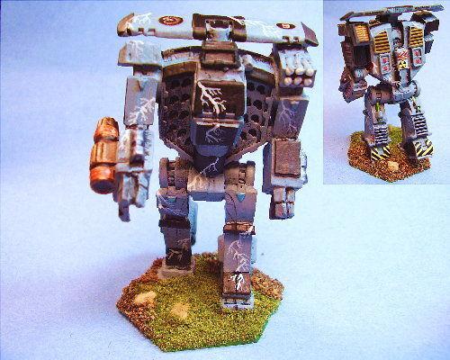 Battletech painted Titan II battlemech BG
