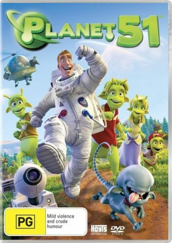 1 of 1 - Planet 51 - Dvd Brand New & Sealed