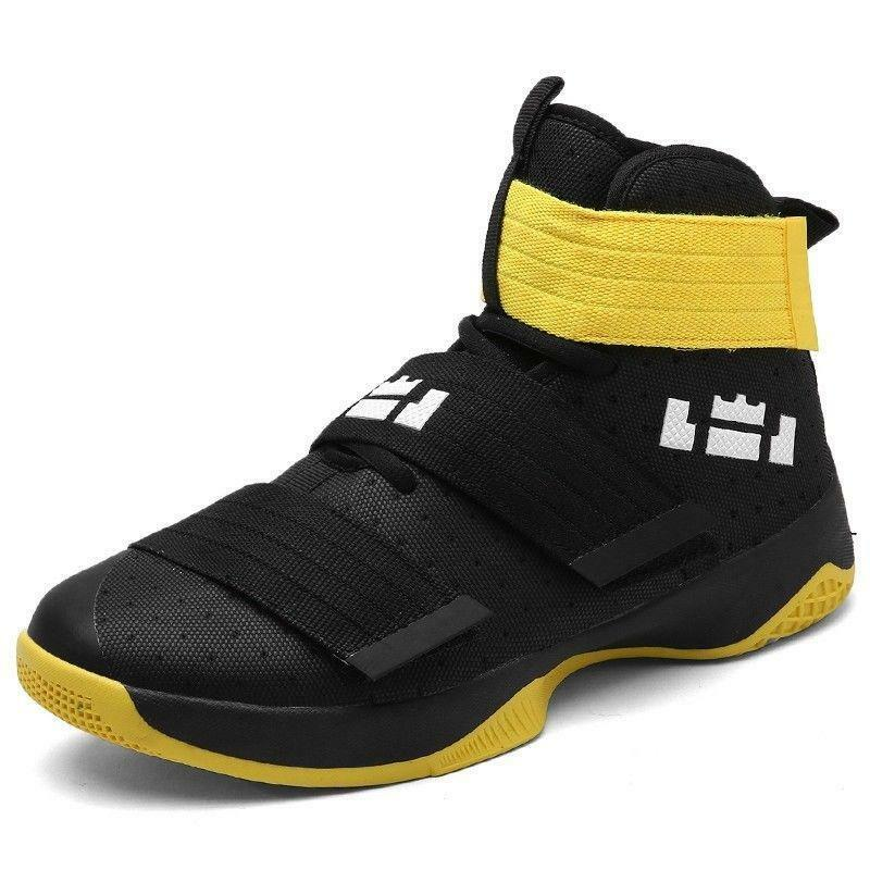 Men's Sports Running Sneakers Basketball shoes High Top Trainers Ankle Boots mgi