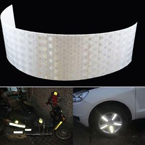 Nastro-adesivo-catarifragente-25-cm-BIANCO-moto-auto-camion-scooter-casco-bici