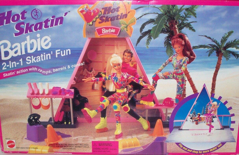 Barbie caliente SKATIN 'Conjunto de Juego + caliente SKATIN' muñecas Barbie y Ken 13513