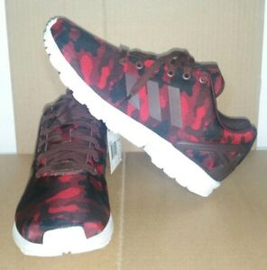 adidas ZX Flux shoes camouflage