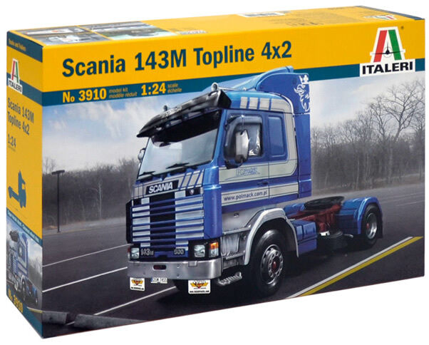 Italeri SCANIA 143M TOPLINE 4x2 Plastic Model Kit