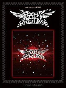 Offizielles-Band-Score-Babymetal-Notenblatt-Buch-mit-Abtastung-Japan-Neu