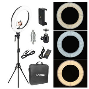 18-039-039-LED-SMD-Ring-Light-Kit-With-Stand-Dimmable-5500K-For-Camera-Makeup-Phone