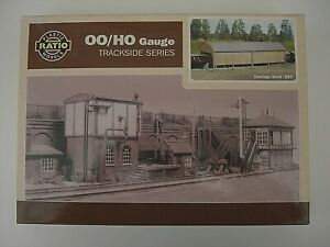 Boxed Unused Ratio Plastic Models Carriage Shed 527 HO/OO Scale Model Railway