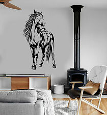 Vinyl Wall Decal Horse Saddle Animal Stickers Mural (ig4109)
