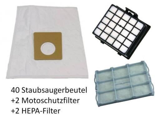 20 Staubsaugerbeutel HEPA /& Motor Filter Siemens VSZ32410 VSZ 32410
