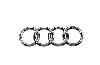 New Genuine AUDI A6 A8 Q7 Audi Trunk Emblem Rear Rings Badge 4E0853742 2ZZ OEM