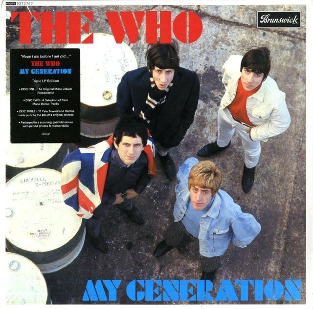 The que My Generation Triple Vinilo LP 180 Gramos Deluxe Edition Nuevo
