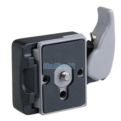 Black Camera 323 Quick Release Clamp Adapter with 200PL-14 Compat Plate New
