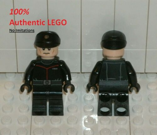 Blasters 75266 Minifigure 5x LEGO NEW Authentic Star Wars First Order Officer