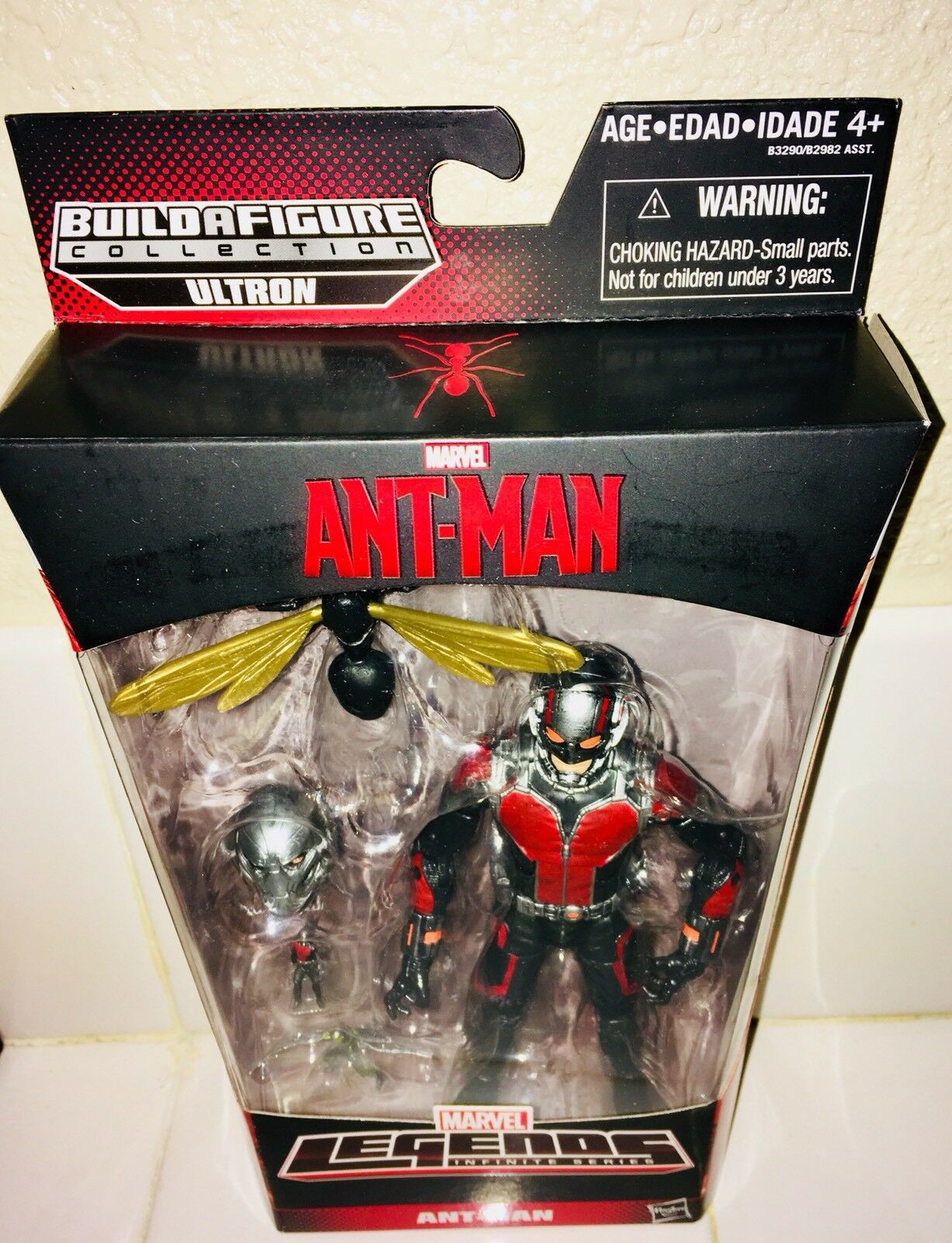 MARVEL LEGENDS ANT-MAN MCU WASP GIANT MAN - MCU ANT-MAN MOVIE 2018 - SOLD OUT HARD TO FIND be16cb