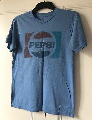 Acquista A Buon Mercato Vintage Da Uomo Pepsi T-shirt Taglia Small Blu Casual Sport 90s-mostra Il Titolo Originale Prezzo Moderato