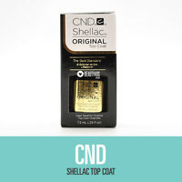 Cnd Shellac Uv Soak-off Gel Top Coat 0.25 Fl Oz
