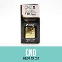 Cnd Shellac Uv Soak-off Gel Top Coat 0.25 Fl Oz