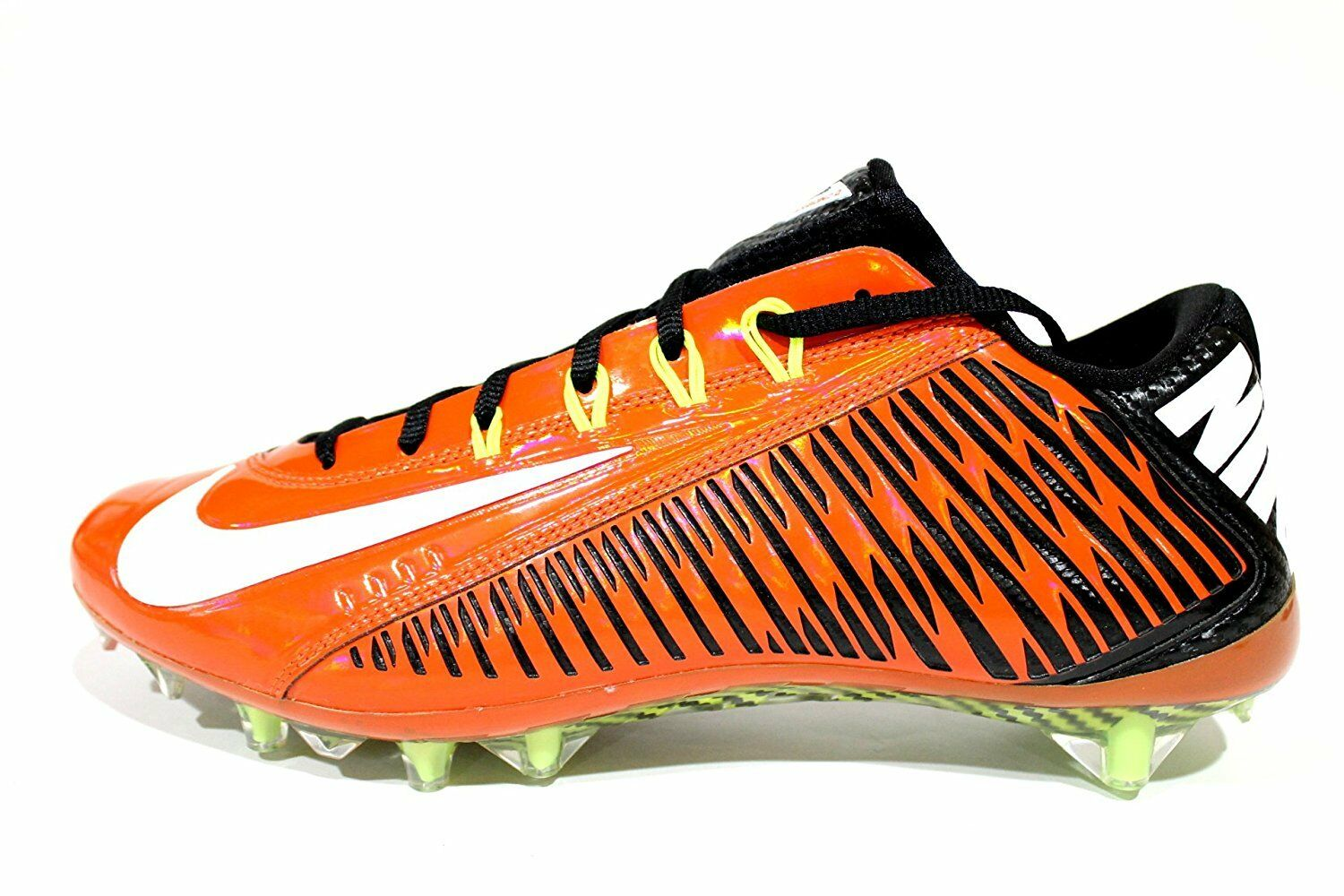 New Nike Vapor Vapor Vapor Carbon Elite 2014 TD Men's 12 Football Cleats Orange Flash White 24d552