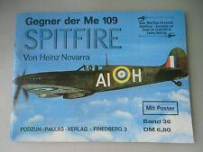 Waffen-Arsenal 36  mit Poster Gegner der Me 109 Spitfire