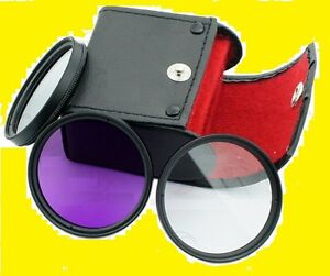 Multithreaded Glass Filter UV Haze 62mm For Sony Cyber-shot DSC-RX10 1A Multicoated