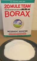 1 Cup 20 Mule Team Borax Laundry Detergent Booster 8oz For Cleaning Or Laundry