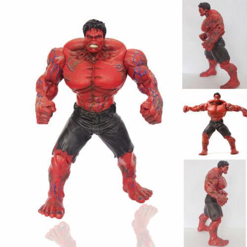 "10/"" 26CM Marvel Legends The Avengers Incredible Hulk Red Hulk Loose Figure  Toys"