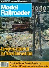 1983 Model Railroader Magazine: Progress Report on The Model Railroad Club