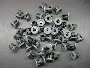 "50 pcs 1//8/"" x 3//16/"" emblem script name plate tubular barrel nuts with sealer GM"