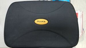 FLUKE-HARD-CASE-18-034-12-034-5-5-034-NYLON-TWO-ZIPPERS-STRAP-POUCH-COMPARTMENTS