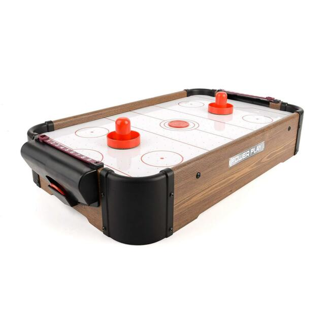 Power Play Ty5895db Table Top Air Hockey Game 20 Inch For Sale