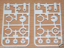 Tamiya 58596 Dual Ridge/TT-02B/TT02B MS/DF03, 9224036/19224036 V Parts (2 Pcs.)