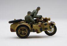 """Schuco Piccolo / Military Zündapp KS 750 """" Wehrmacht """" w/ Sidecar / # SHU05066"""