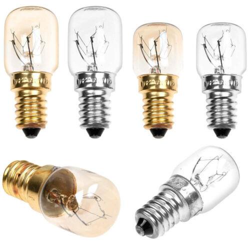 15//25W 300c Oven Cooker Appliance Bulb Lamp SES E14 Light Bulbs 240v