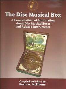 Disc-Musical-Box-Book-nearly-500-pages-Polyphon-Regina-Kalliope-Symphonion