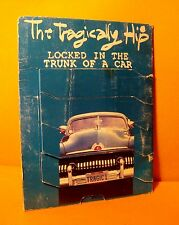 Cardsleeve single CD Tragically Hip Locked In The Trunk Of A Car 3 TR 1993 Rock