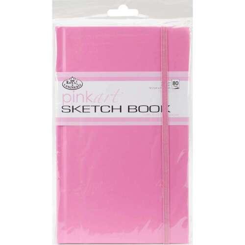 """Pink Art Artist Sketch Book 5/""""X8.25/"""" 80 Sheets 090672051172"""