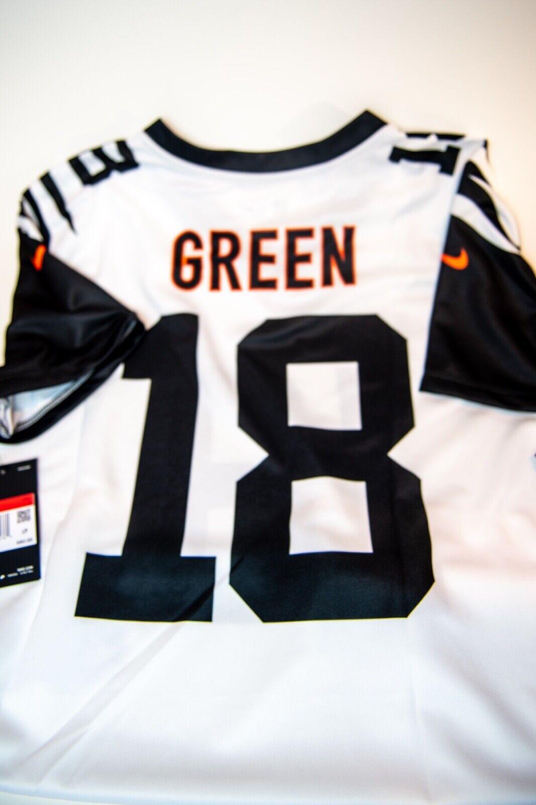 Nike AJ Green Cincinnati Bengals Color Rush Limited Women's L Football Jersey