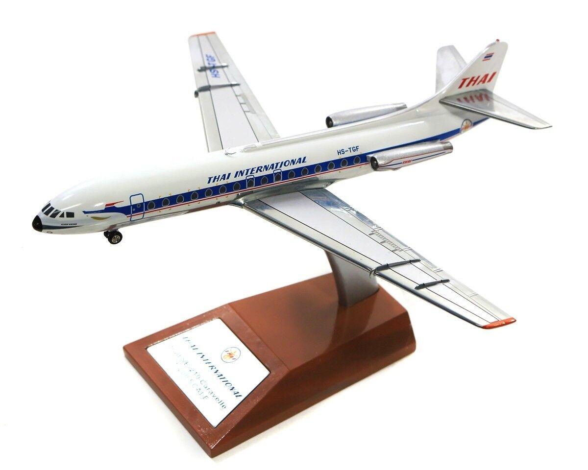 IF2100418P 1 200 Thai Airways Sud SE-210 Caravelle III HS-TGF poli avec support