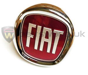 Fiat-Punto-Evo-amp-Bravo-Push-Button-Boot-Tailgate-Badge-New-GENUINE-735579354