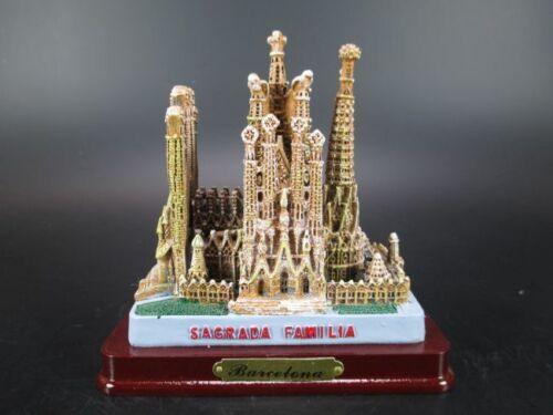Barcelona Sagrada Familia Kirche Gaudi Spanien Poly Modell Espana,11 cm,Neu