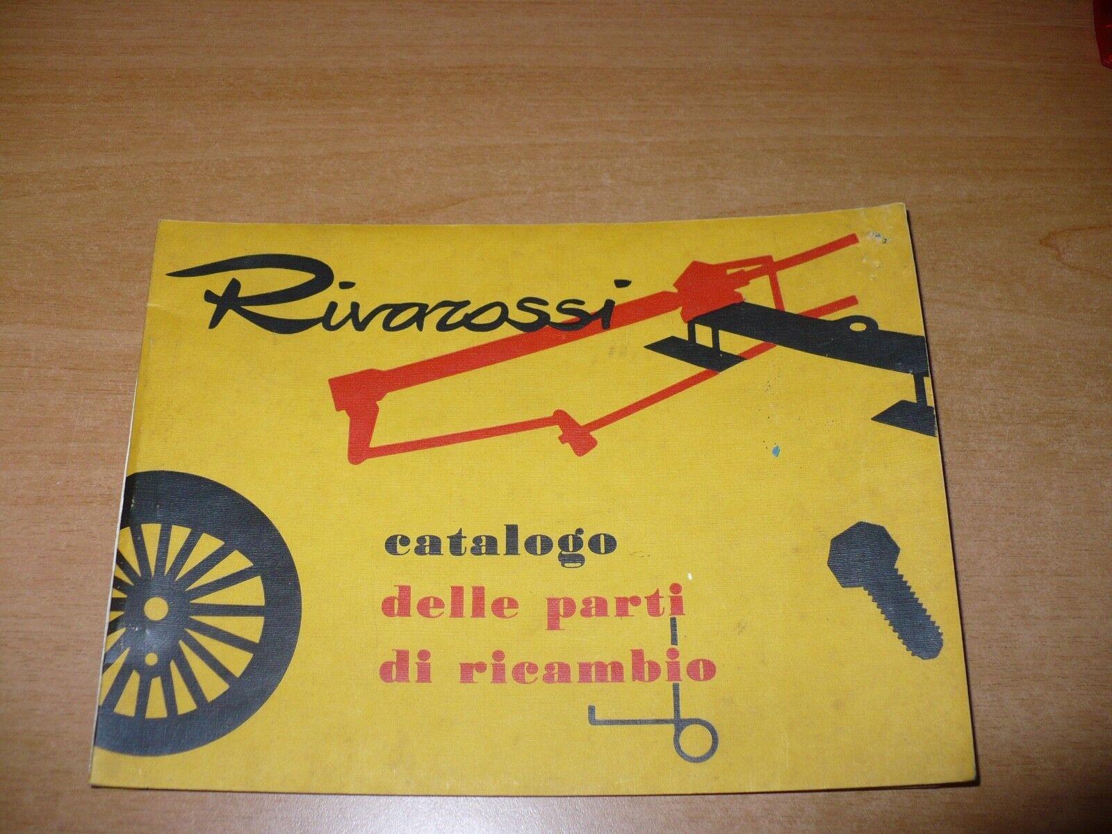 Model train catalog rivarossi parts Replacement 1961 train