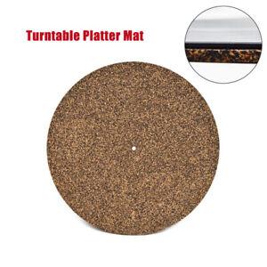 Cork Amp Rubber Turntable Platter Mat Slipmat Anti Static