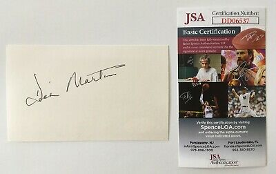 Television Autographs-original Delicious Dick Martin Signed Autographed 3x5 Card Jsa Certified Rowan & Martin's Laugh-in The Latest Fashion
