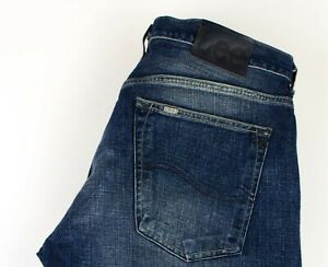 Lee-Uomo-Gamba-Dritta-Jeans-Taglia-W36-L34-ACZ1060